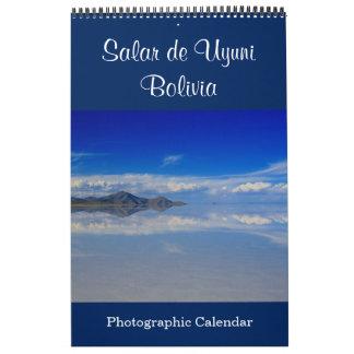 salar de uyuni bolivia calendar