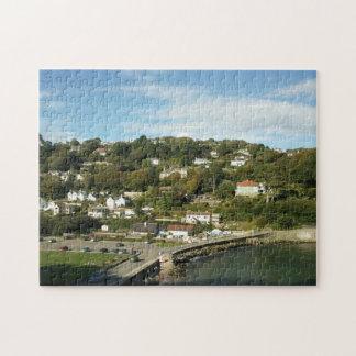 Salcombe Beach Uk Jigsaw Puzzle