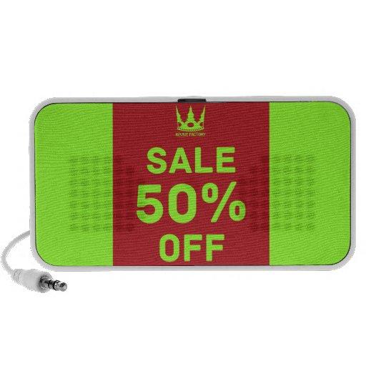 SALE-50%OFF (red) Laptop Speaker
