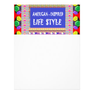 Sale American Inspired Life Style Gifts by Navin J Customized Letterhead