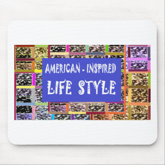 Sale American Inspired Life Style Gifts by Navin J Mouse Pad