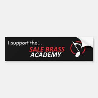 Sale Brass Academy Supporter Bumper Sticker