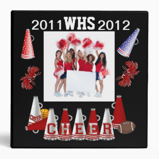 SALE! Cheer - See Back Binder