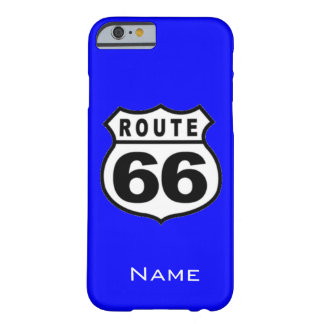 SALE - Custom Name Route 66 iPhone 6 case