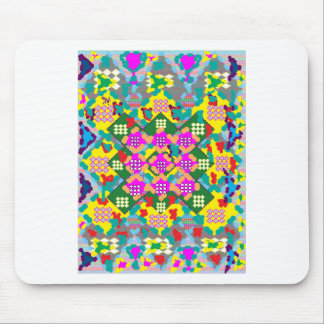 SALE Elegant Pink Flower Floral Abstract Art gifts Mouse Pad
