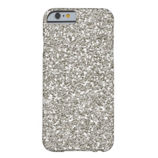 SALE Gorgeous Silver (faux) Glitter iPhone 6 case