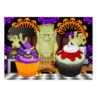 SALE - Halloween Kitchen Card - SRF Large Business Card