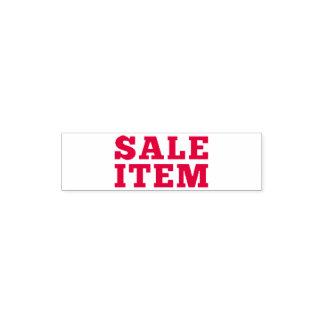 Sale Item Self-inking Stamp