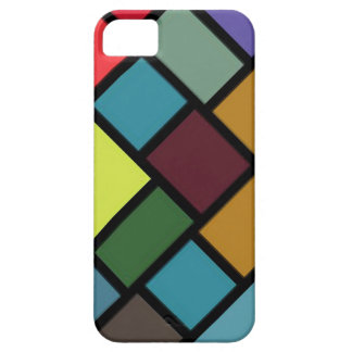 SALE - Mosaic Klee-esque Angled iPhone 5 Case