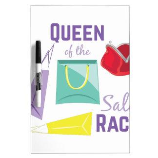 Sale Rack Dry Erase Board