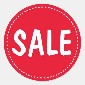 Sale Retail Round Sticker