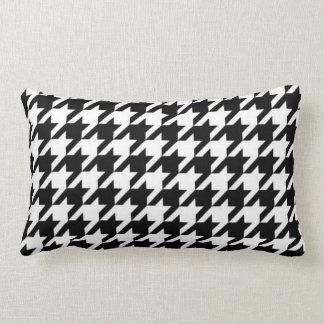 SALE - Retro Classic Houndstooth Lumbar Pillow