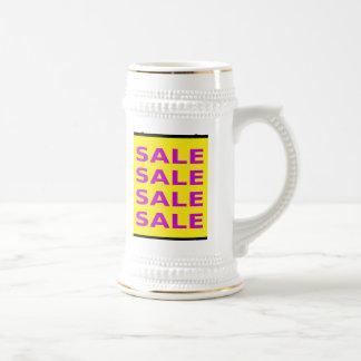 Sale Sign Beer Stein
