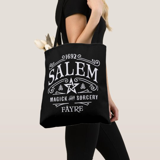 Salem 1692 Witches Fayre Tote Bag