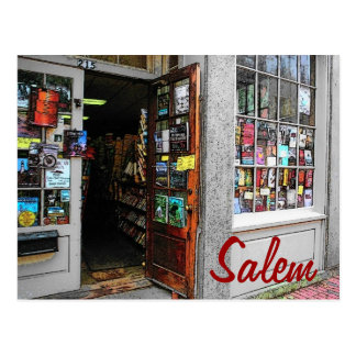 Salem Bookstore Postcard