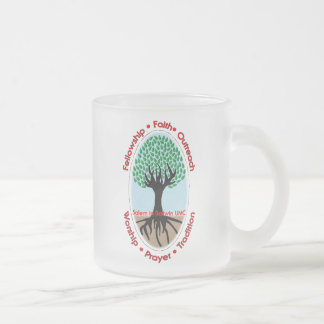 Salem in Ballwin UMC Frosted Glass Coffee Mug