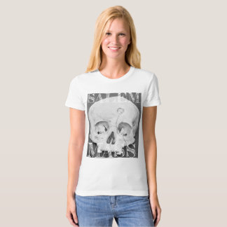 Salem Massachusetts  / Occult Skull T-shirt, women T-Shirt