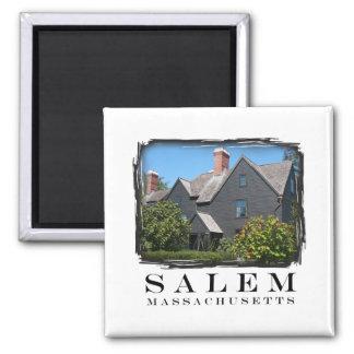 Salem, Massachusetts Square Magnet