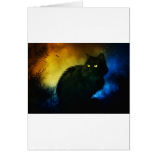 Salem Night Greeting Card