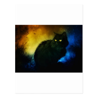 Salem Night Postcard