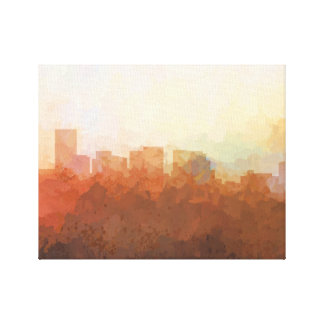 SALEM, OREGON SKYLINE-In the Clouds Canvas