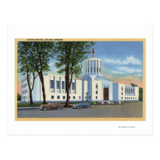 Salem, Oregon - State Capitol Building View Postcard