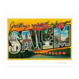 Salem, OregonLarge Letter ScenesSalem, OR Postcard