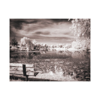 Salem Pond Canvas Print