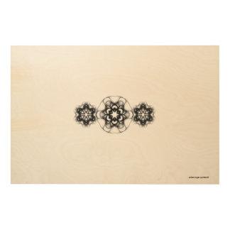 "SALEM ROGER: 36""x24"" Wood Wall Art Pattern 8 Wood Canvases"