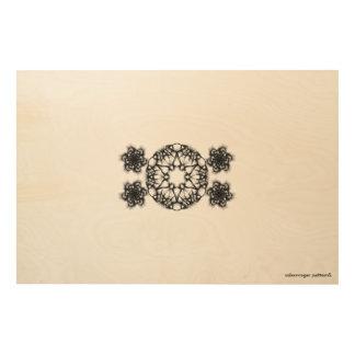 "SALEM ROGER pattern5 36""x24"" Wood Wall Art Wood Canvas"