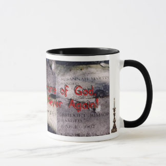Salem Six Never Again Mug