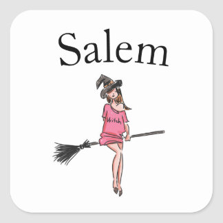 Salem Witches / Halloween cute witch stickers