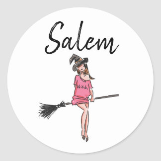 Salem Witches / Halloween cute witch stickers 2