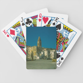 Salerno, Church and town Bicycle Playing Cards