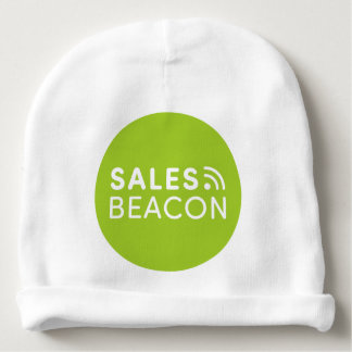 Sales Beacon - Logo - Green Baby Beanie