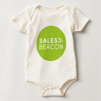 Sales Beacon - Logo - Green Baby Bodysuit