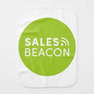 Sales Beacon - Logo - Green Burp Cloth
