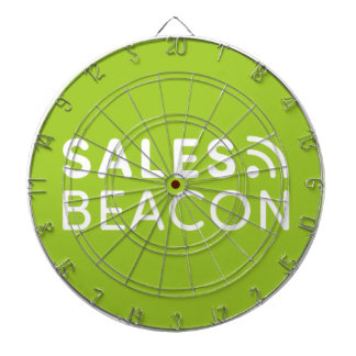 Sales Beacon - Logo - Green Dartboard