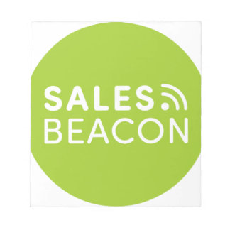 Sales Beacon - Logo - Green Notepad