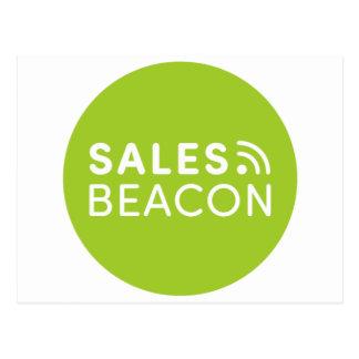 Sales Beacon - Logo - Green Postcard