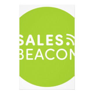 Sales Beacon - Logo - Green Stationery