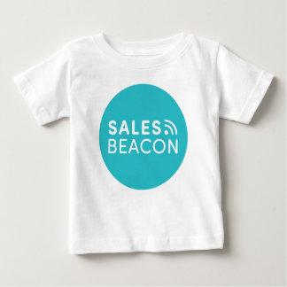 Sales Beacon - Logo - Teal large Baby T-Shirt