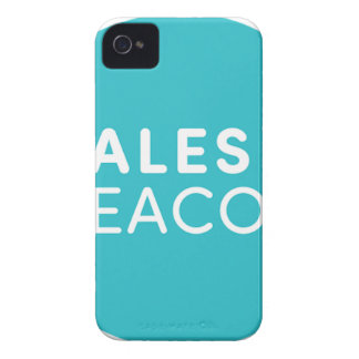 Sales Beacon - Logo - Teal large iPhone 4 Case