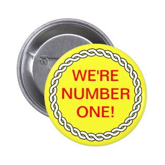 Sales Business WE RE NUMBER ONE Event Pin Yellow