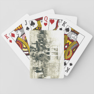 sales day Barnwell, SC Early 1900's Playing Cards