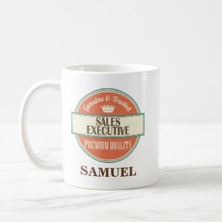 Sales Executive Personalized Office Mug Gift