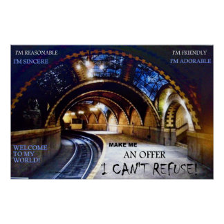 SALES TUNNEL MAKE ME AN OFFER I CAN'T REFUSE 2 POSTER