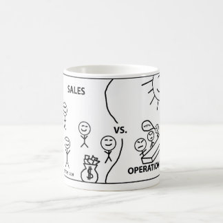 Sales vs Operations Coffee Mug