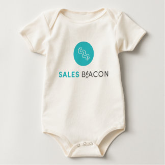 SalesBeacon - Bacon - Grey Baby Bodysuit