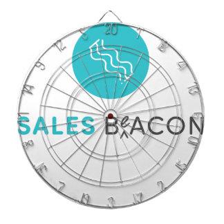SalesBeacon - Bacon - Grey Dartboard